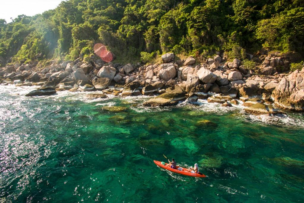 Kayaking Koh Tao