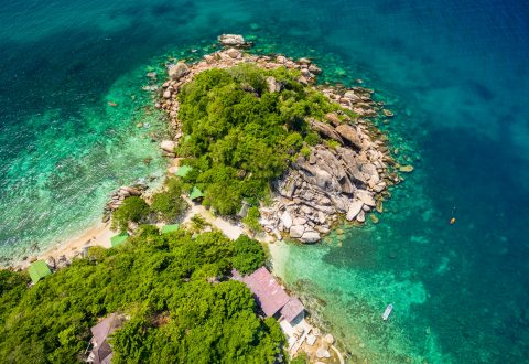 แหลมเจ๊ะตากัง ชายหาดของเกาะเต่า