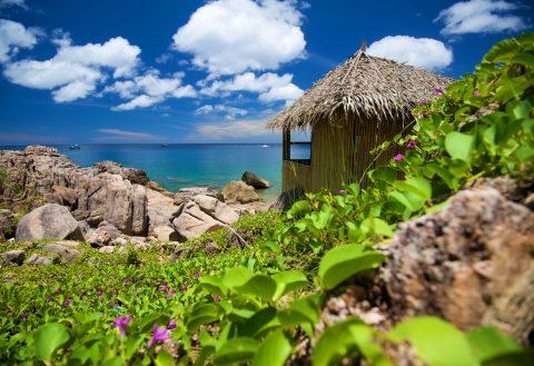 อ่าวลังค่าย ชายหาดของเกาะเต่า