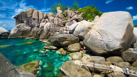 Koh Tao activities - Rock Climbing