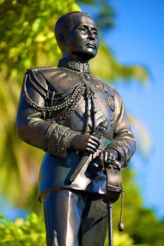 Koh Tao History, King Rama V statue