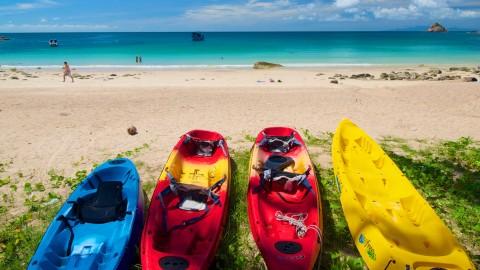 กิจกรรมท่องเที่ยวบนเกาะเต่า - พายเรือคายัค