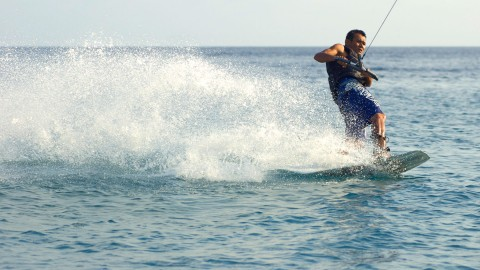 กีฬาทางน้ำที่เกาะเต่า