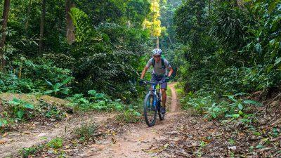 Cycling Koh Tao