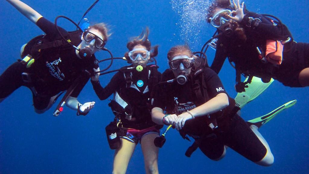 เรียนดำน้ำสกูบา (ดำน้ำลึก) ที่เกาะเต่า