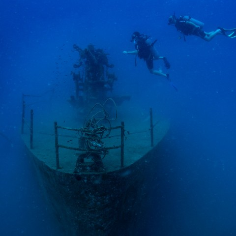 HTMS Sattakut Koh Tao dive sites