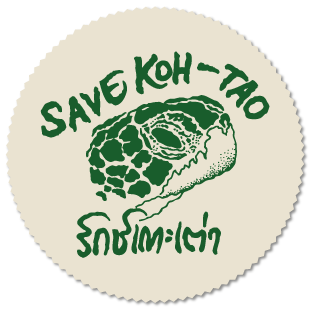 Koh Tao environmental, Save Koh Tao logo