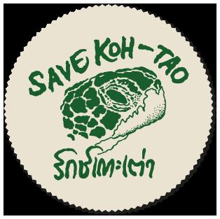 Koh Tao environmental, Save Koh Tao logo