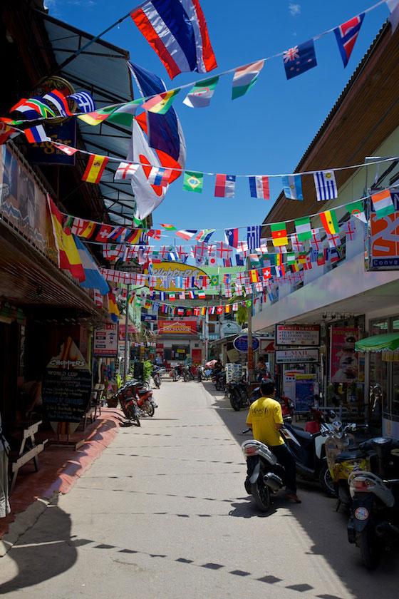 Sairee town, Koh Tao