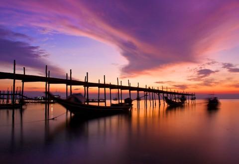 Koh Tao beaches and bay — Mae Haad Bay