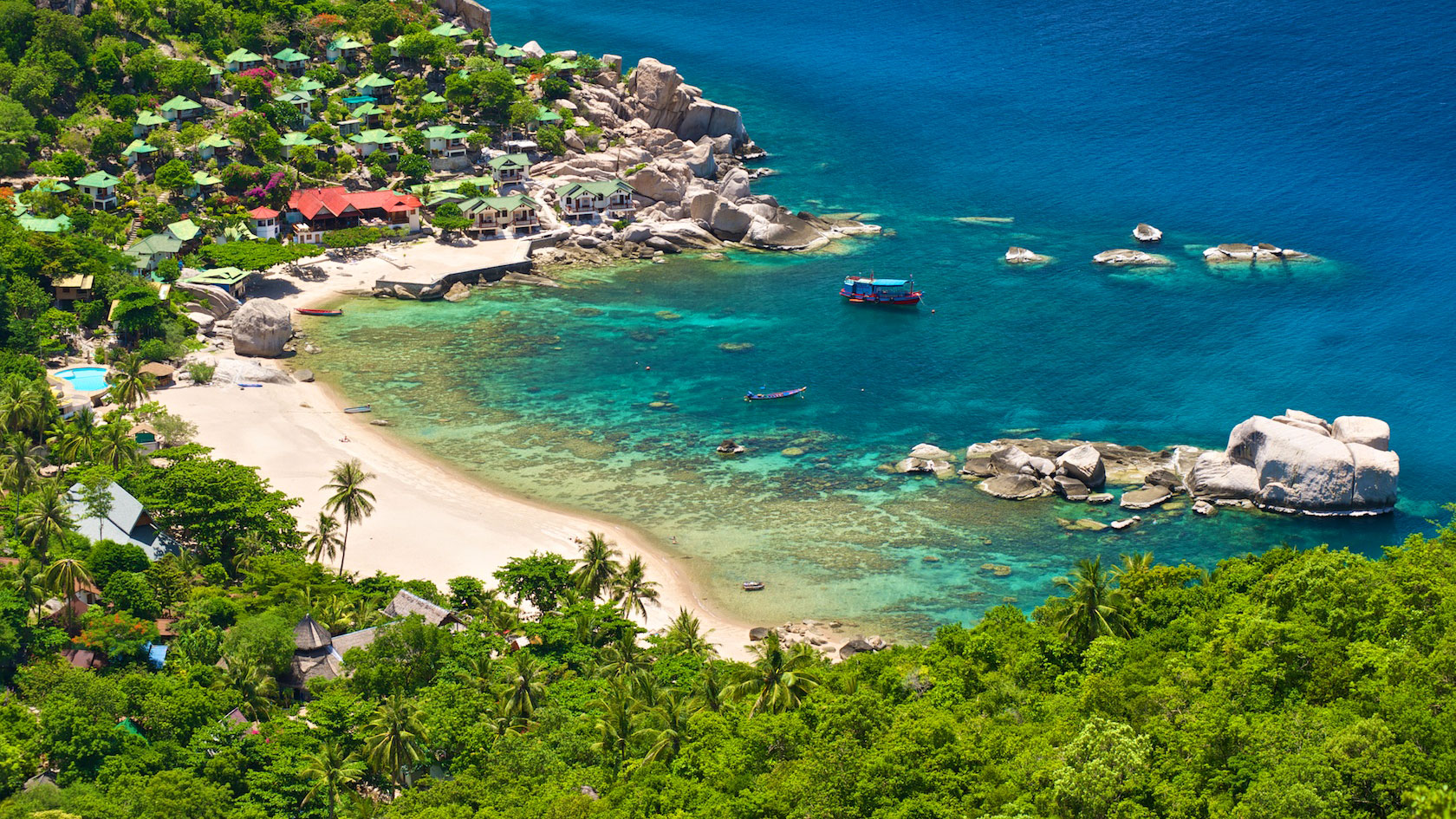 East coast accommodation koh tao a complete guide for Hotels koh tao