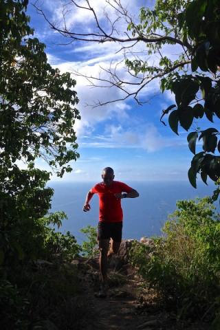 Koh Tao trail running