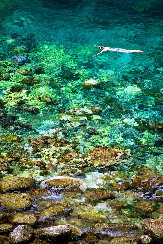 Snorkelling Aow Leuk, Koh Tao