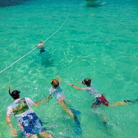 Snorkelling Mango Bay, Koh Tao