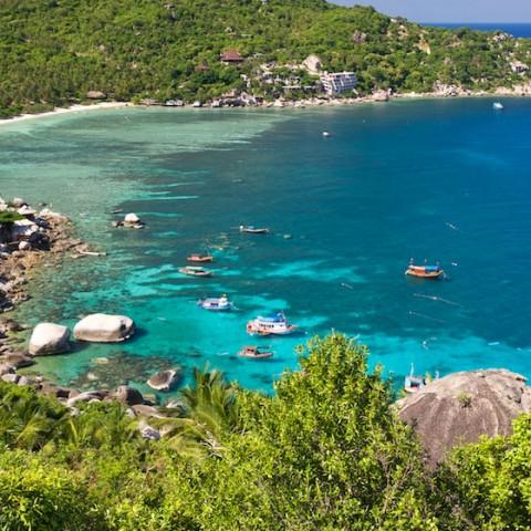 Shark Bay and Taa Chaa Bay, Koh Tao