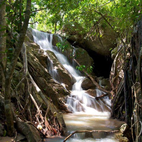 Waterfall at Tanote Bay, Koh Tao