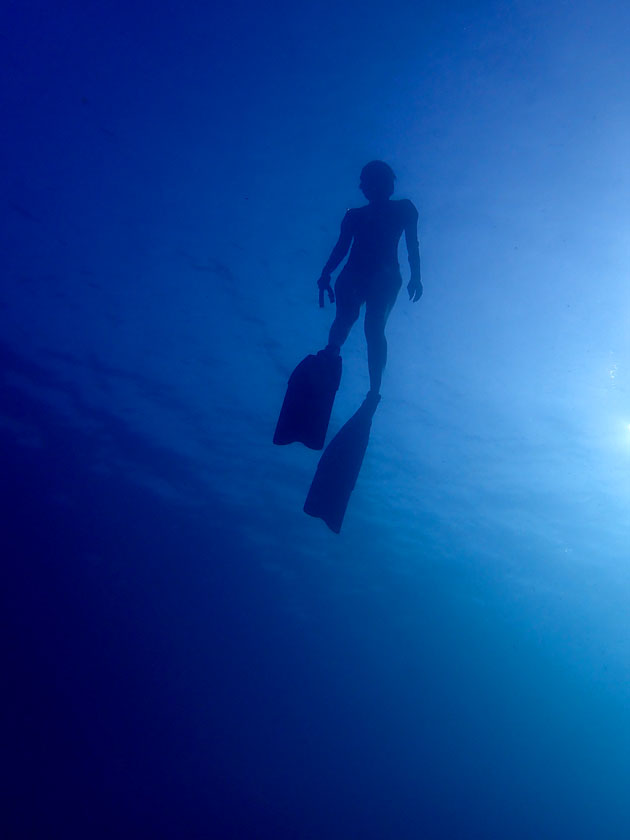 Freediving Tanote Bay, Koh Tao