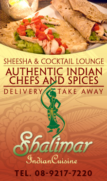 Shalimar Indian Cuisine, Koh Tao