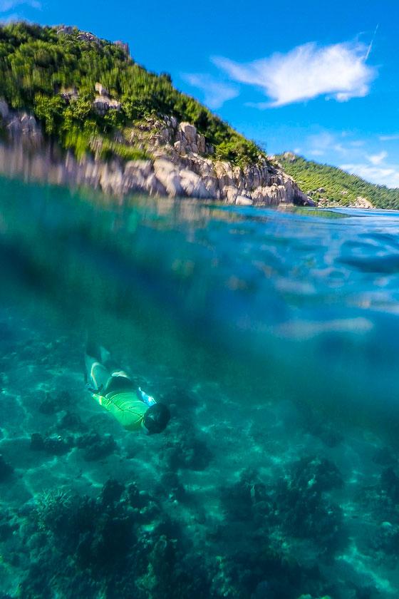 Underwater of Lad Bay, Koh Tao