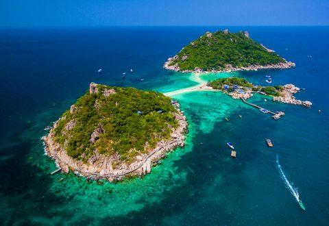 ชายหาดของเกาะเต่า – เกาะนางยวน