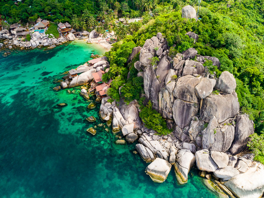 Jansom Bay, Koh Tao