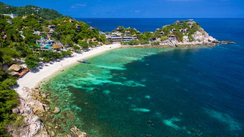ที่พักในหาดทรายแดง เกาะเต่า