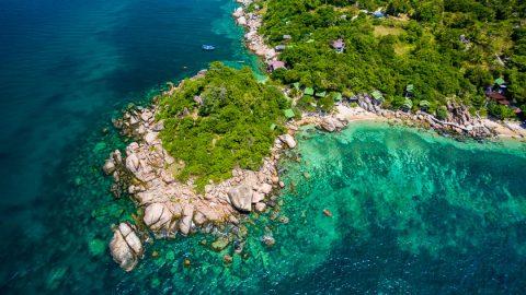 ที่พักในแหลมเจ๊ะตากัง เกาะเต่า