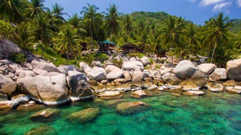 ที่พักบนเกาะเต่าที่อ่าวหินวง