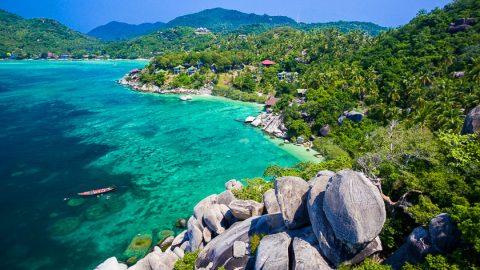 Koh Tao accommodation in Freedom Beach