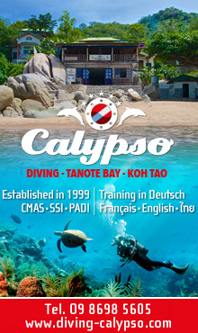 Calypso Diving Koh Tao