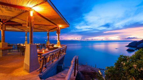 รีวิวร้านอาหารบนเกาะเต่า