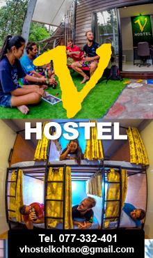 V Hostel, Koh Tao