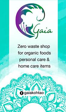 Gaia Organic Living, Koh Tao