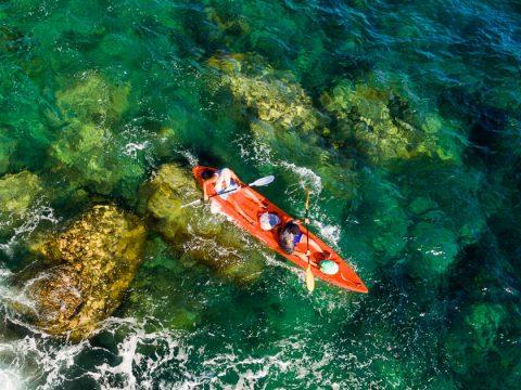 พายคายัคและดำน้ำตื้นที่เกาะเต่า