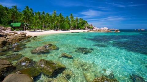 สถานที่ท่องเที่ยวของเกาะเต่า - อ่าวและชายหาดต่างๆ