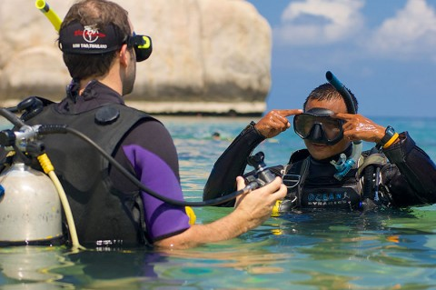 Diving Koh Tao - Diving Instructor course