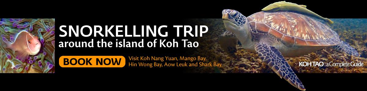 Koh Tao Snorkelling and Sightseeing Trip around island