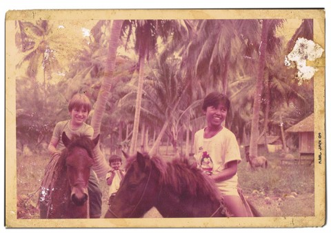 Koh Tao History old photo from 1980's