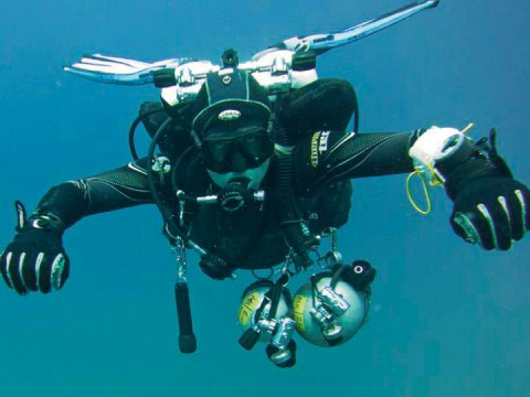 Technical diving Koh Tao