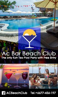 AC Bar Beach Club, Koh Tao