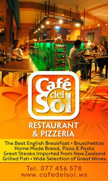Cafe Del Sol Koh Tao