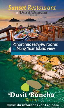 Sunset Restaurant at Dusit Buncha Resort Koh Tao