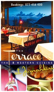 The Terrace Restaurant at Jamahkiri