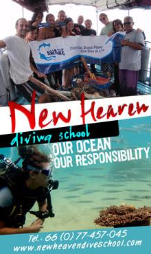 New Heaven Dive School Koh Tao