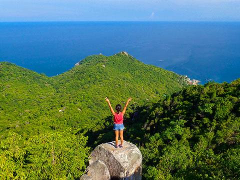 Randonnée pédestre Sairee – Tanote et points de vue