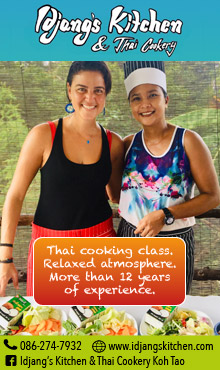 Idjang's Kitchen & Thai Cookery Koh Tao