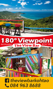 180° Viewpoint, The View Bar Koh Tao
