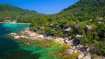 ที่พักบนเกาะเต่า อ่าวแม่หาด
