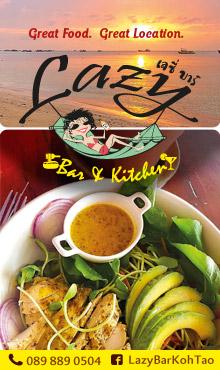 Lazy Bar & Kitchen, Koh Tao