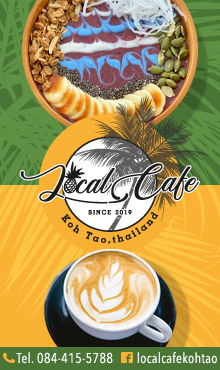 Local Cafe, Koh Tao